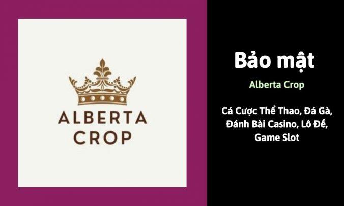 Bảo mật Alberta Crop