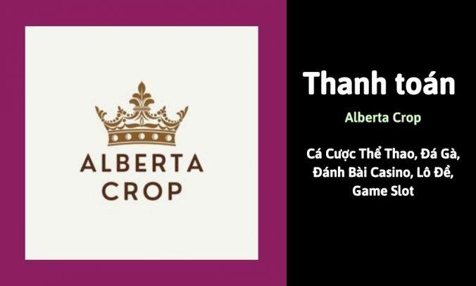 Thanh toán Alberta Crop